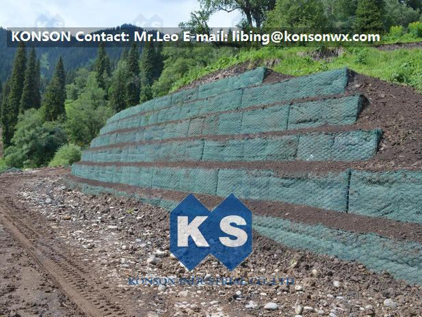 Hexagonal Wire Mesh Double Twisted Gabion Wall Baskets With ASTM A975-97 Standard