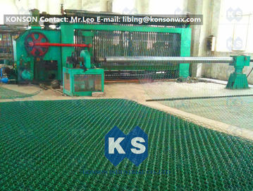 চীন High Corrosion Hexagonal Wire Netting Machine For Making Stone Cage 2x1x1m সরবরাহকারী