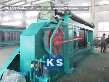চীন Fully Automatic Hexagonal Mesh Machine For Making Gabion Net Stone Cages সরবরাহকারী