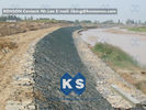 চীন Large Stone Gabion Boxes / Gabions And Mattresses 80mm x 100mm 2.7mm Wire Dia কোম্পানির